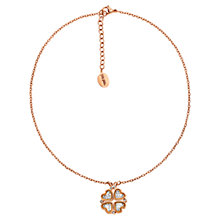 Buy Folli Follie Heart4Heart Floating Necklace, Rose Gold Online at johnlewis.com