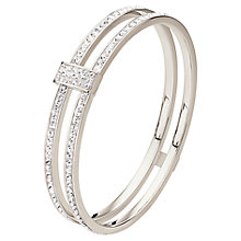 Buy Folli Follie Match And Dazzle Bracelet, Silver Online at johnlewis.com
