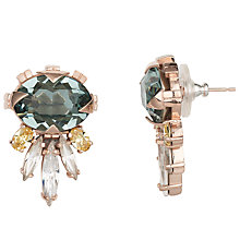 Buy Cabinet Gold Plated Swarovski Crystal Cirripedia Earrings Online at johnlewis.com