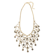Buy Adele Marie Solid Rope Chain Necklace, Gold Online at johnlewis.com