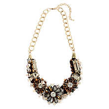 Buy Adele Marie Large Beads and Stones Chain Necklace, Multi Online at johnlewis.com