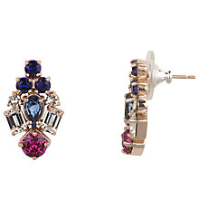 Buy Cabinet Gold Plated Swarovski Crystal Paradisia Earrings Online at johnlewis.com