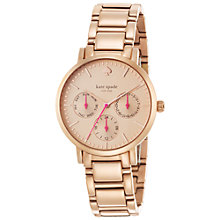 Buy kate spade new york 1YRU0470 Women's Gramercy Chronograph Watch Online at johnlewis.com