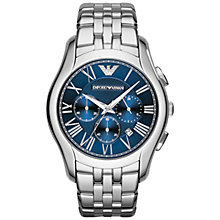 Buy Emporio Armani Men's Classic Analogue Stainless Steel Watch Online at johnlewis.com