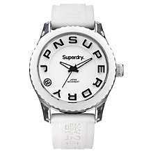 Buy Superdry Women's Tokyo Silicone Strap Watch Online at johnlewis.com