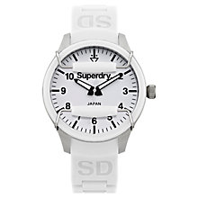 Buy Superdry Women's Scuba Silicone Strap Watch Online at johnlewis.com