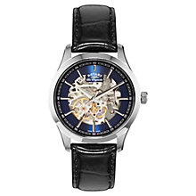 Buy Rotary GS90525/05 Men's Les Originales Stainless Steel Automatic Watch, Black Online at johnlewis.com