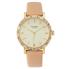 Buy kate spade new york 1YRU0602A Women's Metro Grand Interchangeable Strap Watch, Nude/Gold Online at johnlewis.com