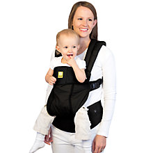 Buy Lillebaby Complete All Seasons 6-in-1 Baby Carrier, Black Online at johnlewis.com