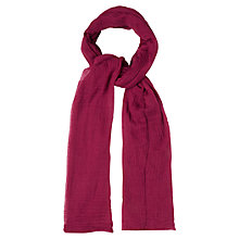 Buy White Stuff Dreaming Away Scarf, Pink Online at johnlewis.com
