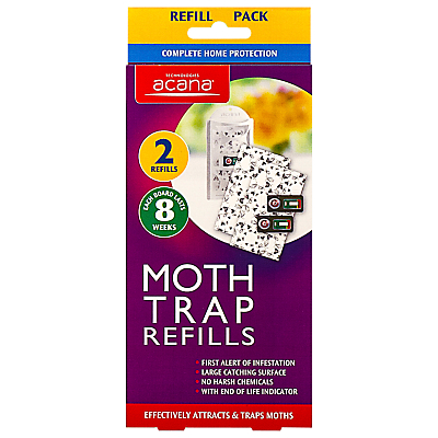 Image of Acana Moth Control Refills, Pack of 2