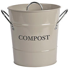 Buy Garden Trading Compost Bucket, Chalk Online at johnlewis.com