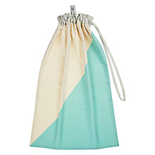 Buy House by John Lewis Laundry Bag, Mint Online at johnlewis.com