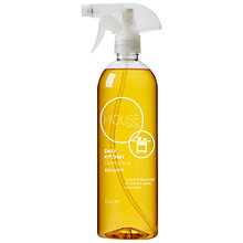 Buy House by John Lewis Daily Kitchen Cleaning Spray, 750ml Online at johnlewis.com
