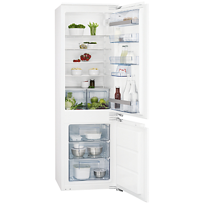 AEG SCS51800F1 Integrated Fridge Freezer A Energy Rating 56cm Wide
