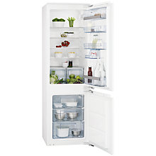 Buy AEG SCS51800F1 Integrated Fridge Freezer, A+ Energy Rating, 56cm Wide Online at johnlewis.com