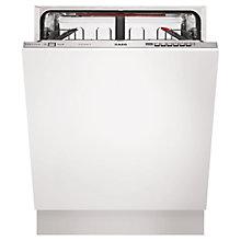 Buy AEG F66603Vi0P Integrated Dishwasher Online at johnlewis.com