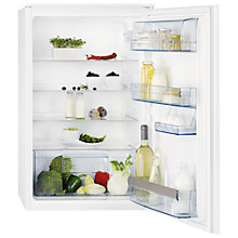 Buy AEG SKS58800S2 Integrated Larder Fridge, A+ Energy Rating, 54cm Wide Online at johnlewis.com