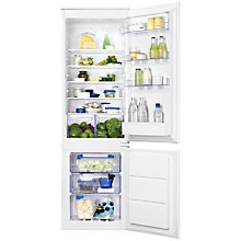 Buy Zanussi ZBB28651SA Integrated Fridge Freezer, A+ Energy Rating, 54cm Wide Online at johnlewis.com