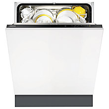 Buy Zanussi ZDT12011FA Integrated Dishwasher Online at johnlewis.com