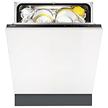 Buy Zanussi ZDT13012FA Integrated Dishwasher Online at johnlewis.com