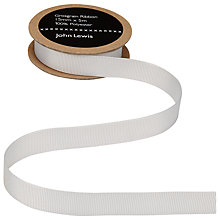 Buy John Lewis Grosgrain Ribbon, 15mm Online at johnlewis.com