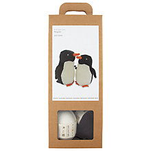 Buy John Lewis Monty & Mabel Penguin Knitting Kit Online at johnlewis.com