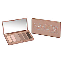 Buy Urban Decay Naked 2 Basics Palette Online at johnlewis.com