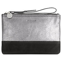 Buy Jigsaw Contrast Leather Clutch Bag Online at johnlewis.com