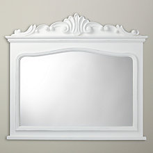 Buy John Lewis Antique Overmantle, White, 109.4 x 98cm Online at johnlewis.com