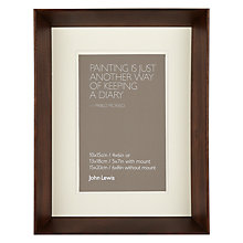 "Buy John Lewis Colour Theory Fusion Photo Frame, 4 x 6"" (10 x 15cm) Online at johnlewis.com"