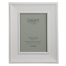 "Buy John Lewis Croft Collection Photo Frame, Grey, 5 x 7"" (13 x 18cm) Online at johnlewis.com"