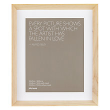 "Buy John Lewis Colour Theory Scandi Photo Frames, 8 x 10"" (20 x 25cm) Online at johnlewis.com"