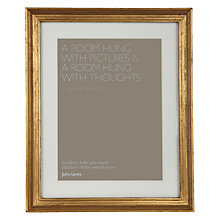 Buy John Lewis Florence Wooden Photo Frame, 8 x 10cm (20 x 25cm) Online at johnlewis.com