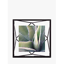 "Buy Umbra Prisma Photo Frame, Black, 4 x 4"" (10 x 10cm) Online at johnlewis.com"