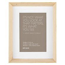 "Buy John Lewis Colour Theory Scandi Photo Frames, 5 x 7"" (13 x 18cm) Online at johnlewis.com"