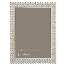 "Buy John Lewis Zoe Photo Frame, 2.5 x 3.5"" (6.5 x 8.5cm) Online at johnlewis.com"