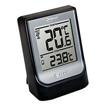 Buy Oregon Scientific Bluetooth Weather Station EMR211, Black/Silver Online at johnlewis.com