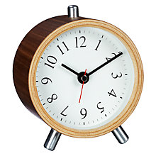 Buy Diamantini & Domeniconi Wooden Mantel Alarm Clock Online at johnlewis.com