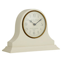 Buy LC Designs Heritage Mantel Clock, Cream Online at johnlewis.com