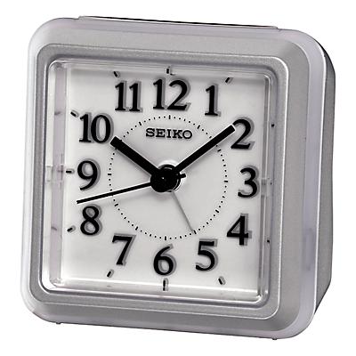 Image of Seiko Alarm Clock, Silver