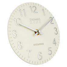 Buy Thomas Kent Cotswold Mantel Clock, Snowberry Online at johnlewis.com