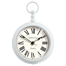 Buy Newgate Empire Doorstep Alarm Clock, Grey Online at johnlewis.com