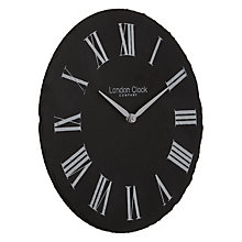 Buy London Clock Company Slate Wall Clock Online at johnlewis.com