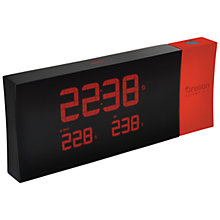 Buy Oregon Scientific Prysma Projection Clock, Red Online at johnlewis.com