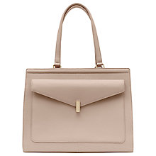 Buy Reiss Lennox Lock Pocket Leather Day Bag Online at johnlewis.com