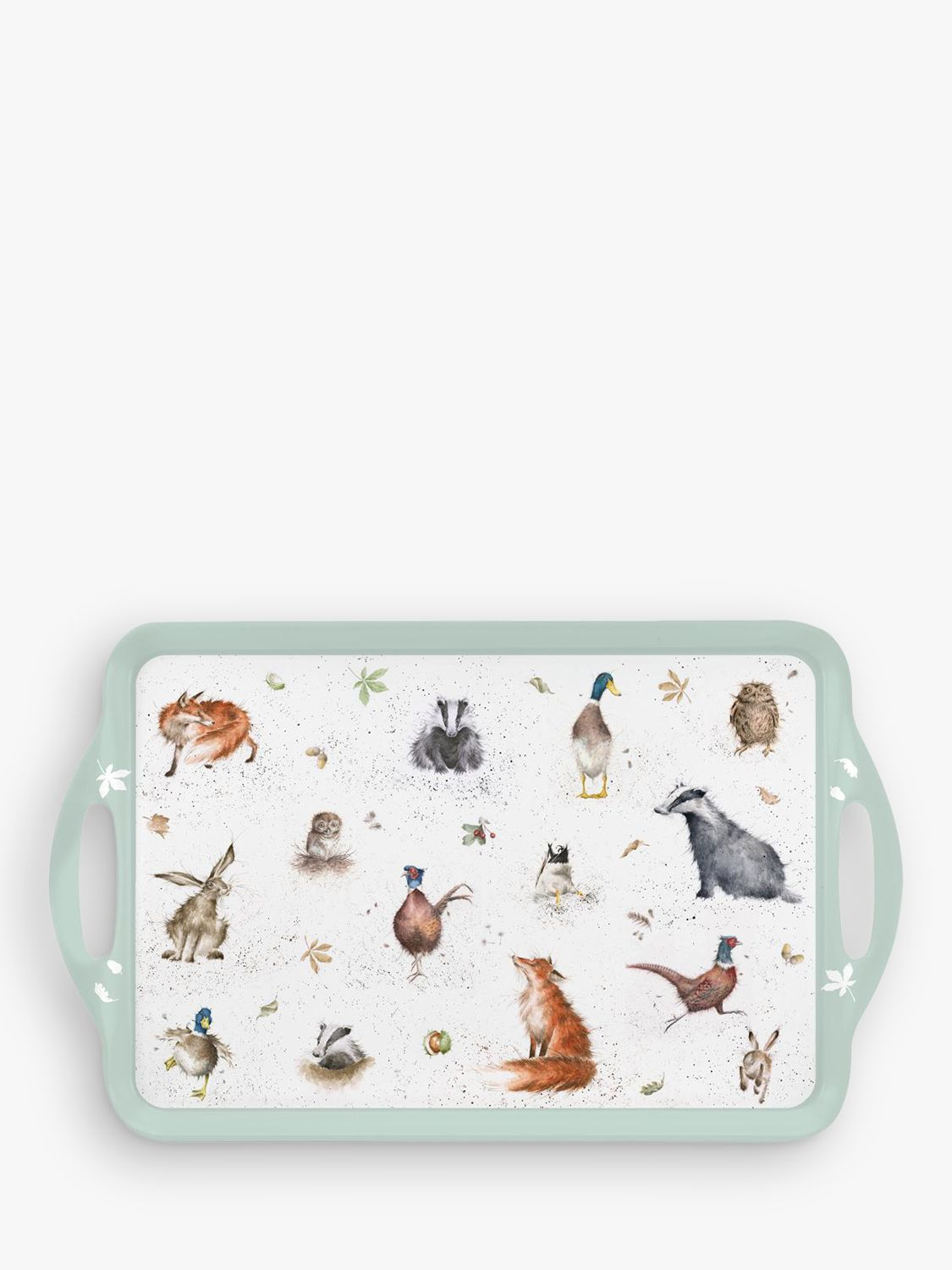 Pimpernel Pimpernel Wrendale Animals Tray, Large