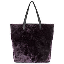Buy Jigsaw Phoebe Shearling Tote Bag Online at johnlewis.com