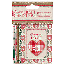 Buy Docrafts Memory Pockets, Pack of 5 Online at johnlewis.com