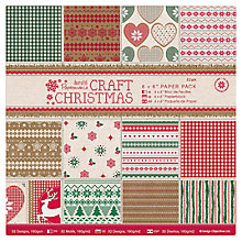 "Buy Docrafts 6x6"" Paper Pack, Pack of 32 Online at johnlewis.com"